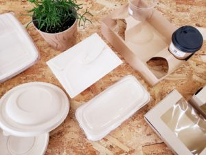 紙容器/モールド容器/バガス容器/竹パルプ容器(エコ素材)